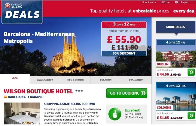 hotel barcelona  euro