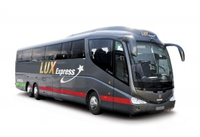 luxexepress bus white e