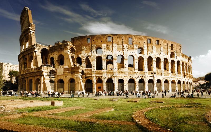 Colosseum taly Rome Landscape e