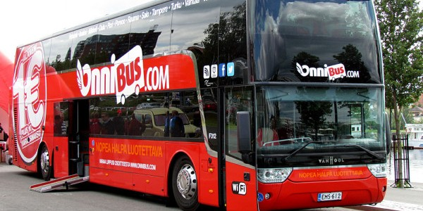 Onnibus Com Tickets From 1 Bus In Finland Travelfree