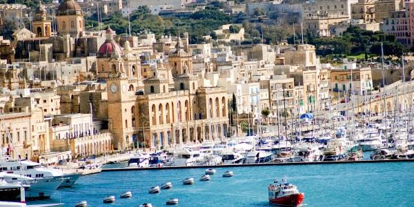 Malta harbour e