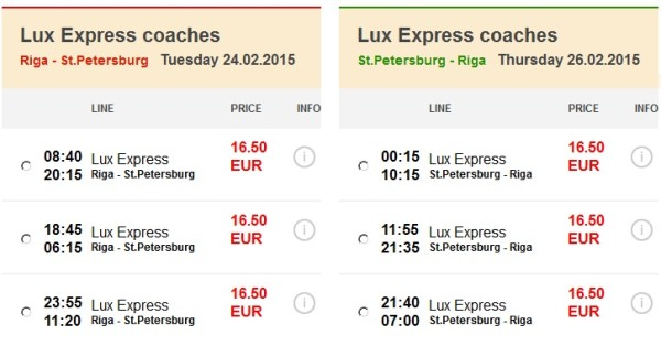 lux express 1