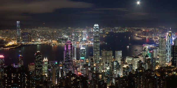 Hong Kong Night view e