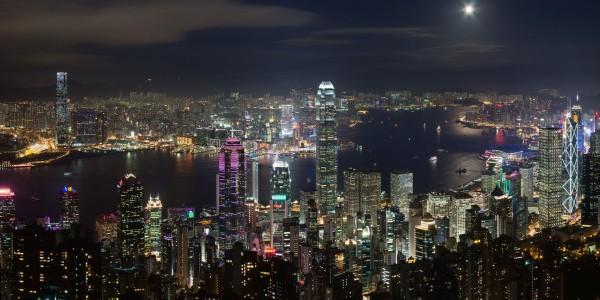 Hong Kong Night view e