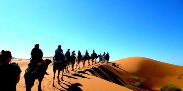 sahara desert morocco camel trekking e