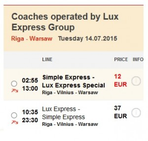 lux express special