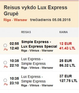 lux express 60