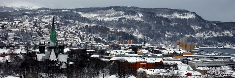 Trondheim Norway panorama