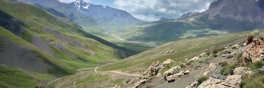 khinalug valley landscape azerbaijan sky hd wallpaper