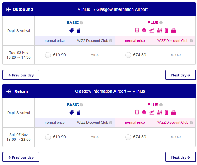 Flights From Vilnius To Glasgow Scotland From 19 Both
