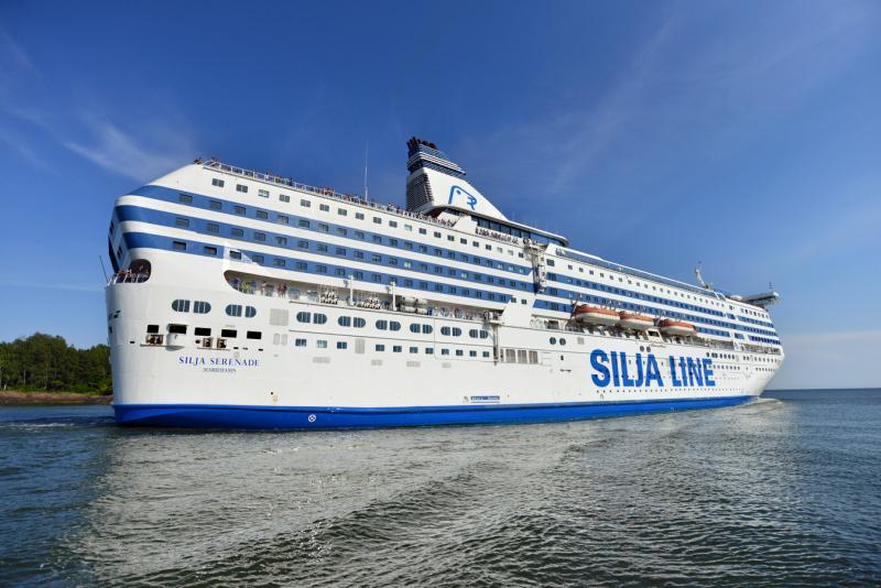 Silja Line Laivaannousu
