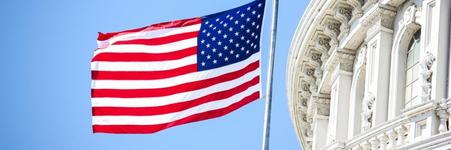 usa washington dc capitol usa flag  e