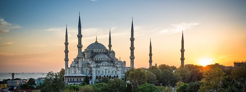 istanbul blaue moschee sultan ahmed