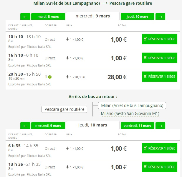 Flixbus Bus Travel In Italy Just For 1 Travelfree