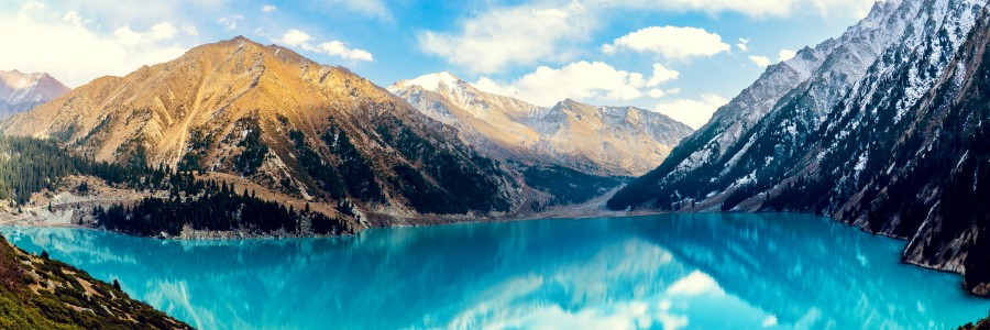 Big Almaty Lake HD Wallpaper