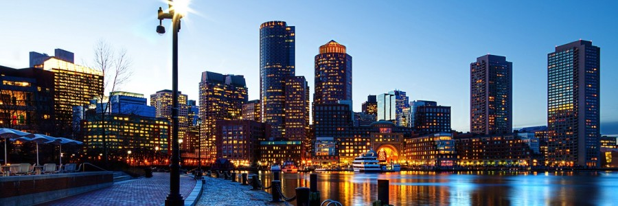 Boston skyline e