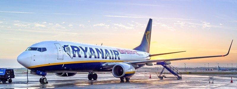 ryanair airplane