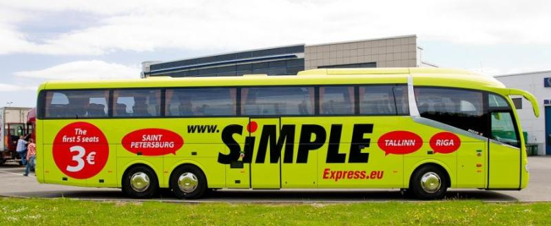 Simple Express Cheap Bus In Estonia For 1 Travelfree