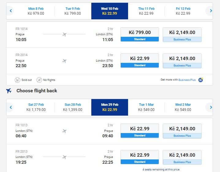 Trivago flights