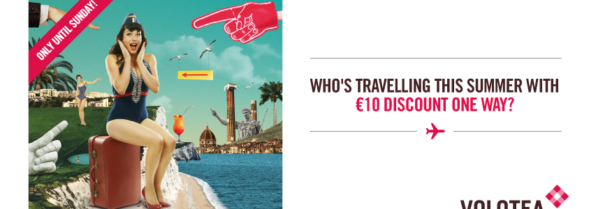 Volotea promo code: up to €20 discount all flights - TravelFree