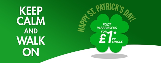 paddys day banner sterling