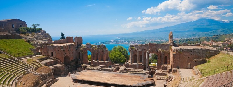 Taormina's Theater