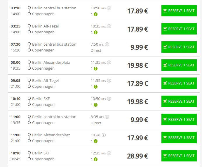 Flixbus Tickets Across Europe For 9 99 Last Days