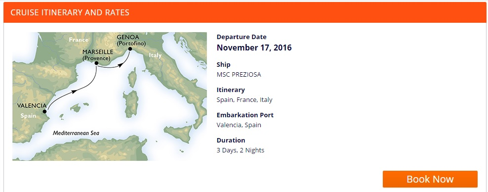 cruise from valencia to italy