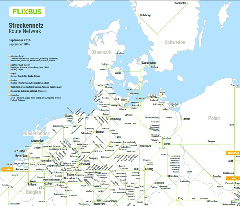 Flixbus Discount Over The Europe Tickets For 9 99