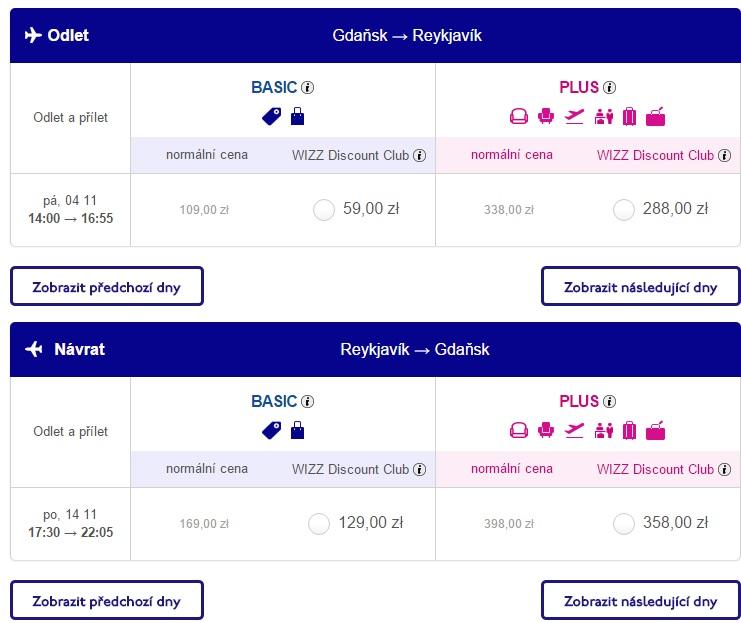 gdansk to iceland flights