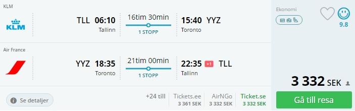 baltics to toronto