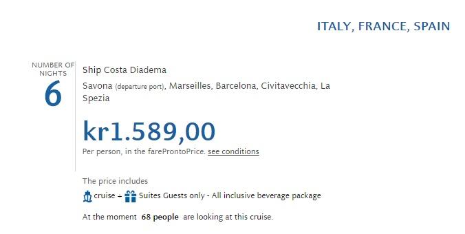 cruise around the Mediterranean