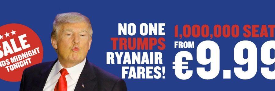 no one trumps ryanair fares sale