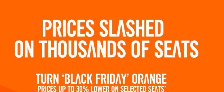 easyjet black friday orange