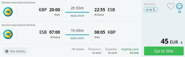flights from ukraine to turkey