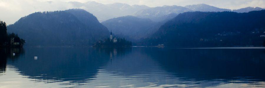 lake bled slovenija collection  e