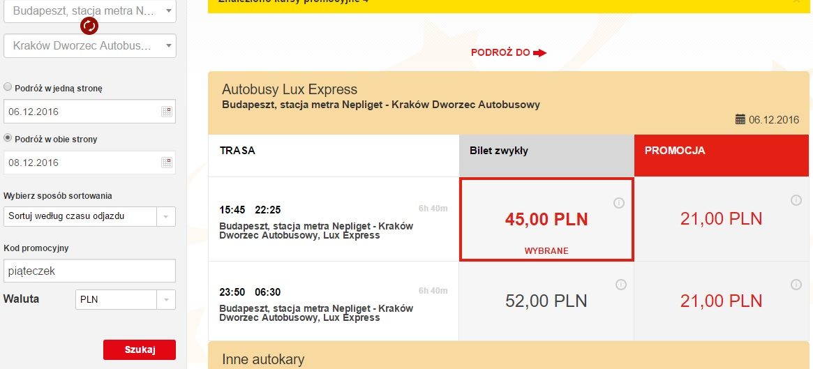 lux express black friday