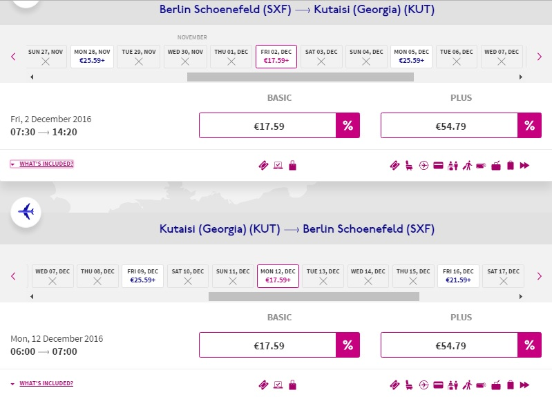 Wizzair Sale Example Travelfree