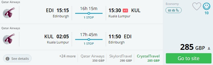 cheap flights from the uk to east asia
