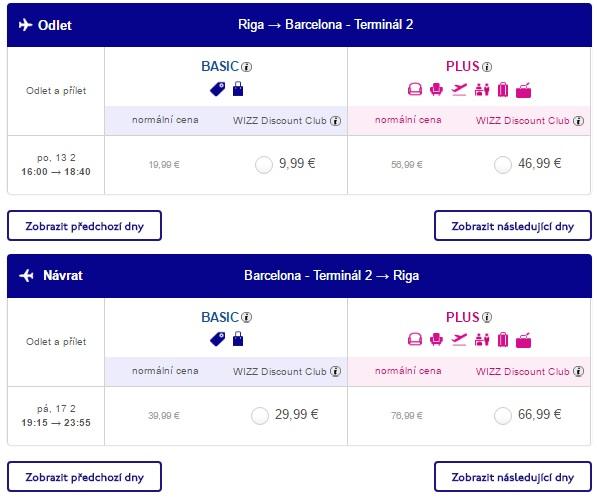 flights from riga to spain