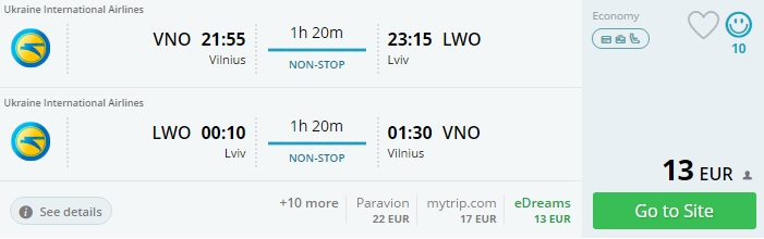 flights to ukraine