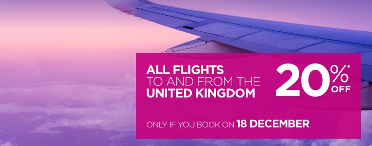 wizz air uk flights sale