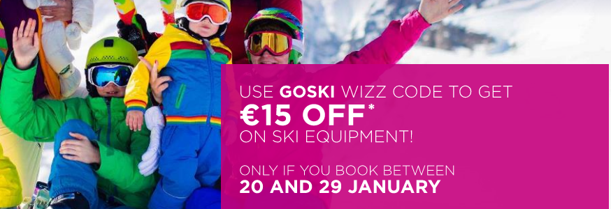wizz air ski last minute travels