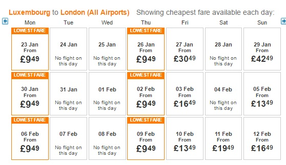 easyjet new year sale