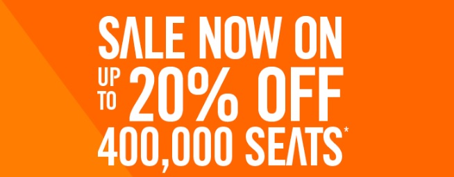 easyjet new year sale