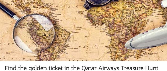 Qatar Airways Treasure Hunt
