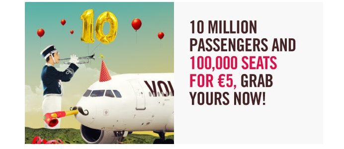 volotea sale promotion
