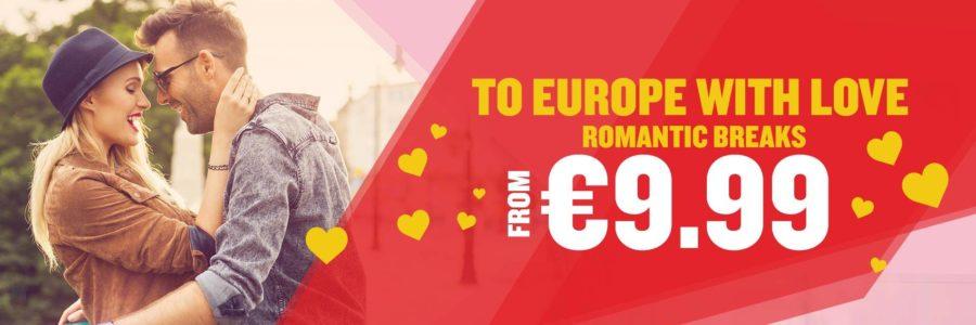 Ryanair Romantic breaks sale