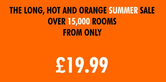 EasyHotel Summer SALE: rooms in the UK
