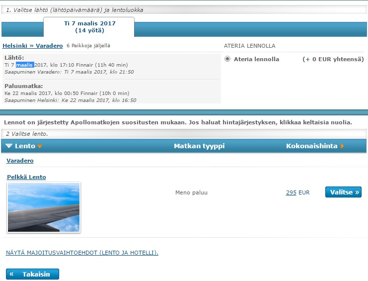 cheap flights to cuba from helsinki